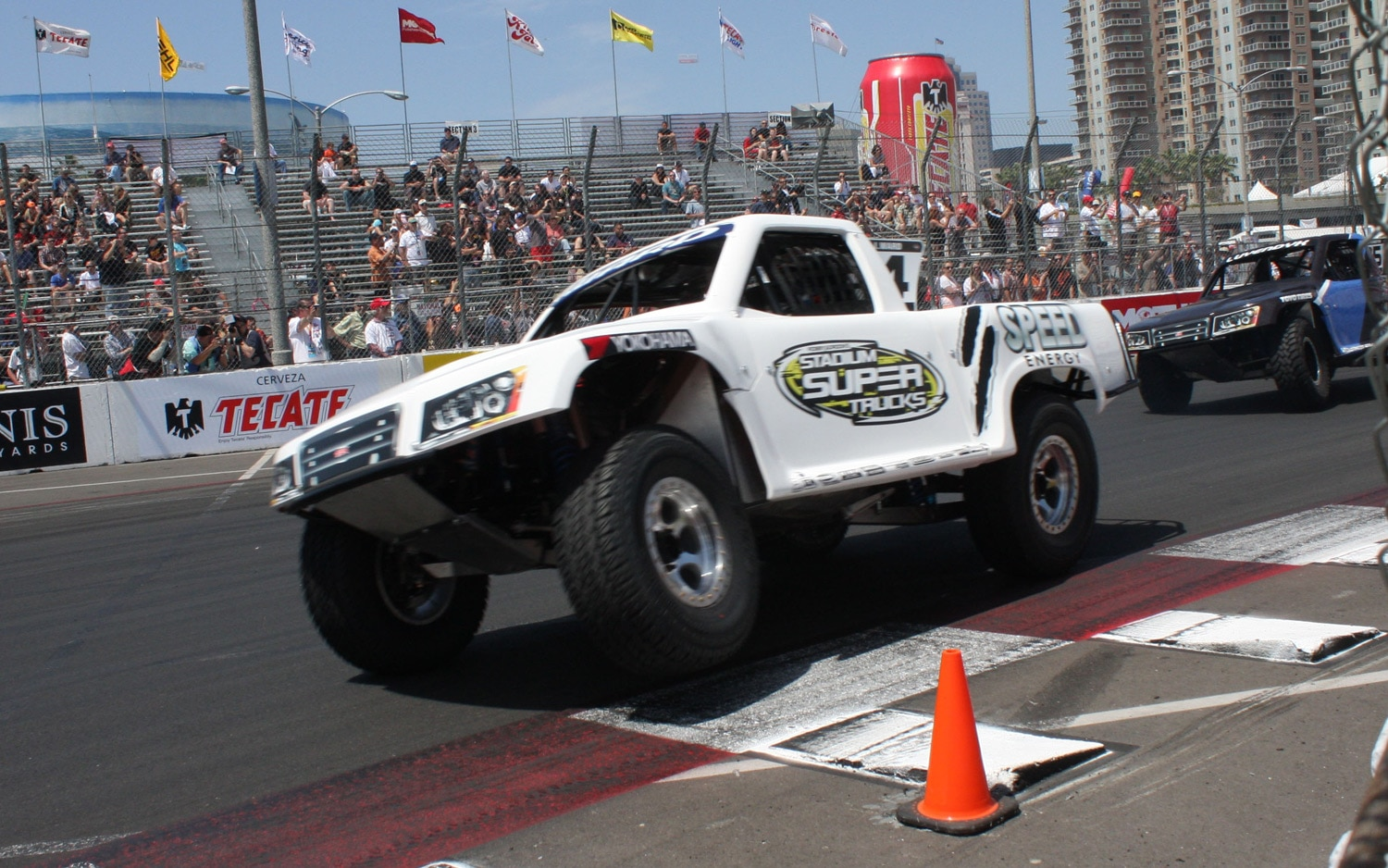 1304OR 34+Robby Gordon SST Stadium Super Trucks 2013 Long Beach Grand Prix