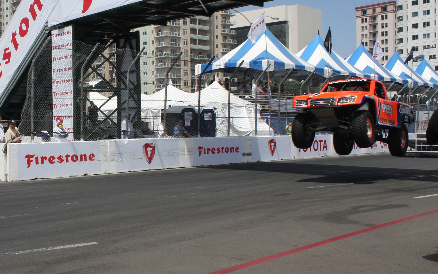 1304OR 37+Robby Gordon SST Stadium Super Trucks 2013 Long Beach Grand Prix