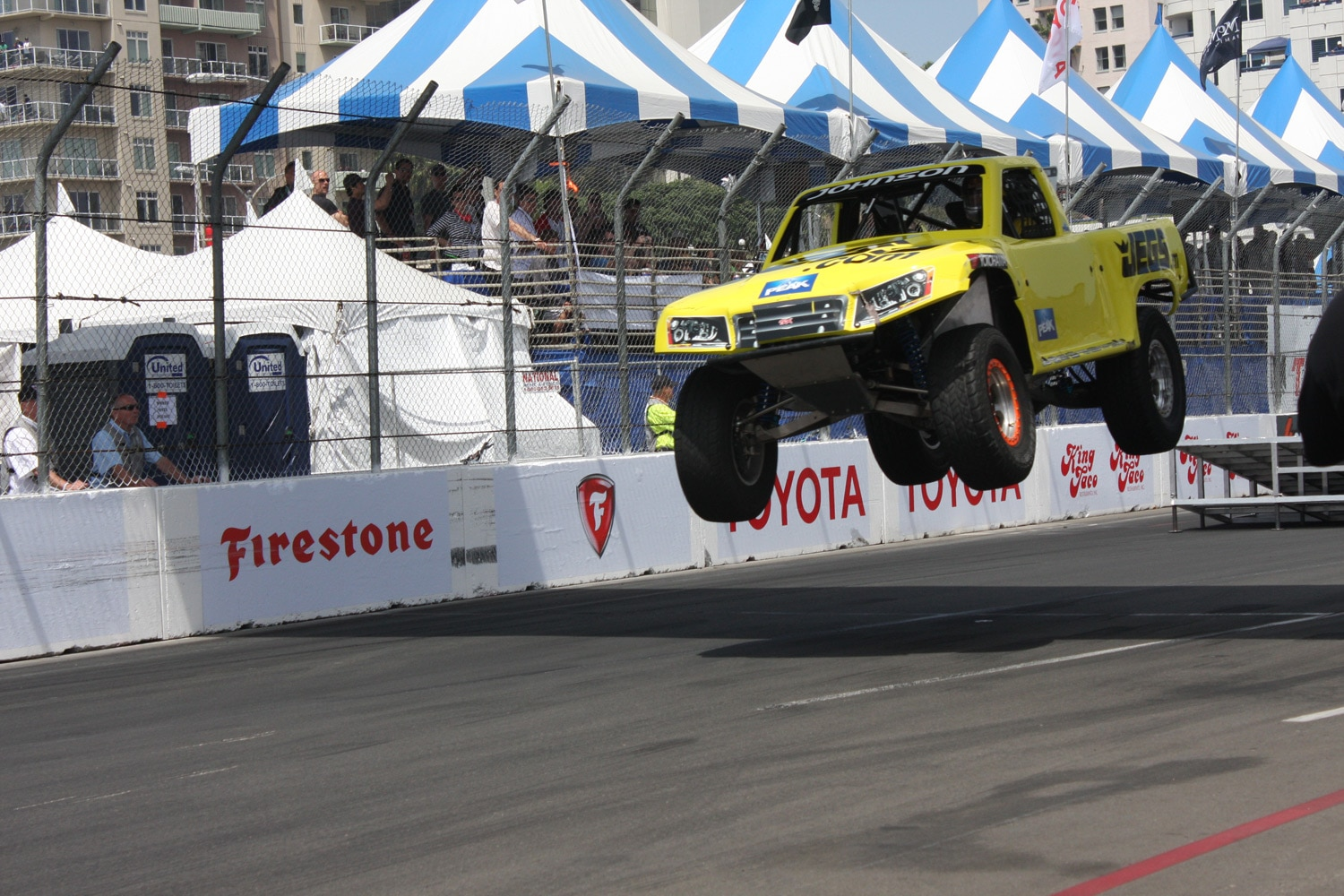 1304OR 40+Robby Gordon SST Stadium Super Trucks 2013 Long Beach Grand Prix