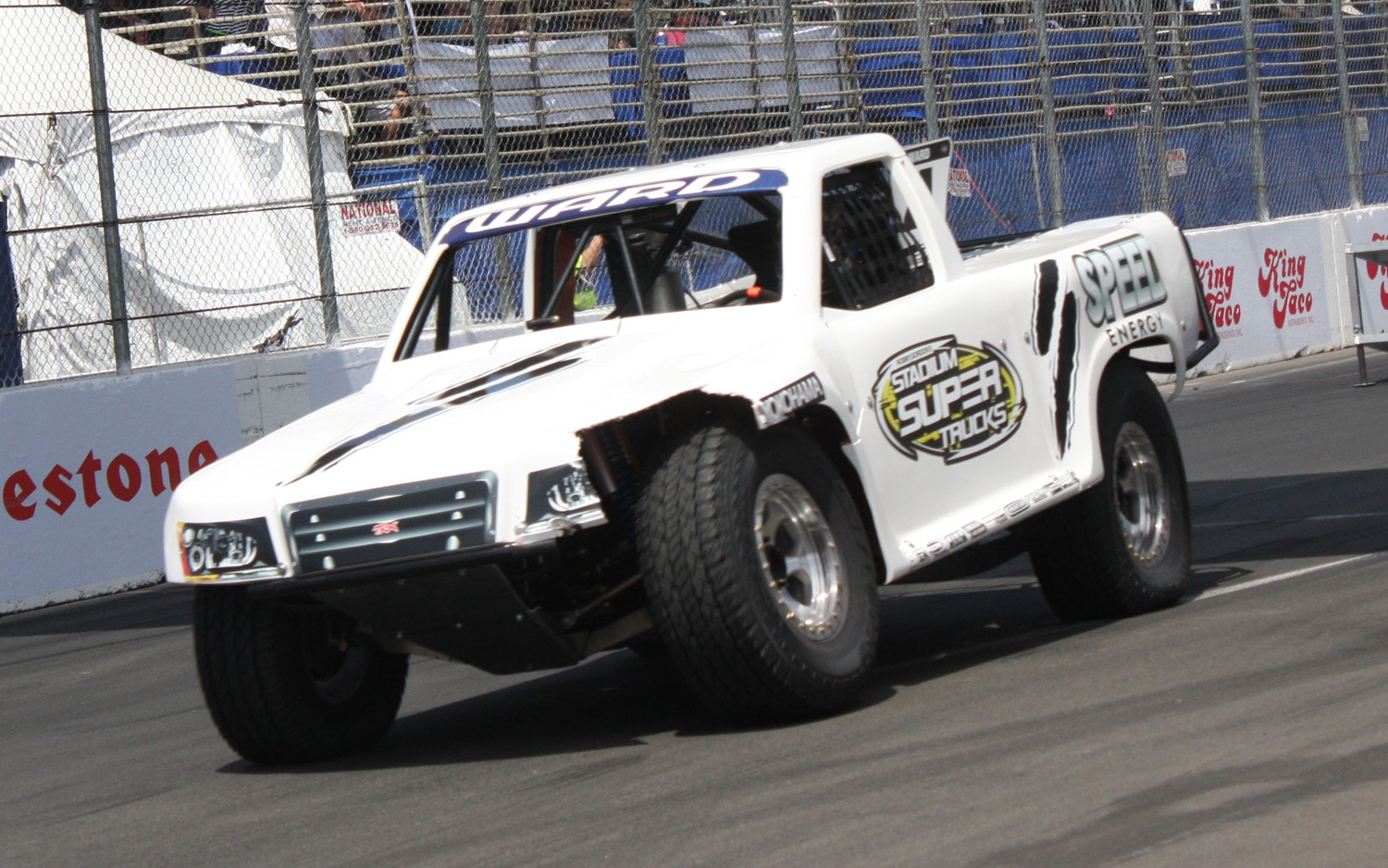 1304OR 41+Robby Gordon SST Stadium Super Trucks 2013 Long Beach Grand Prix