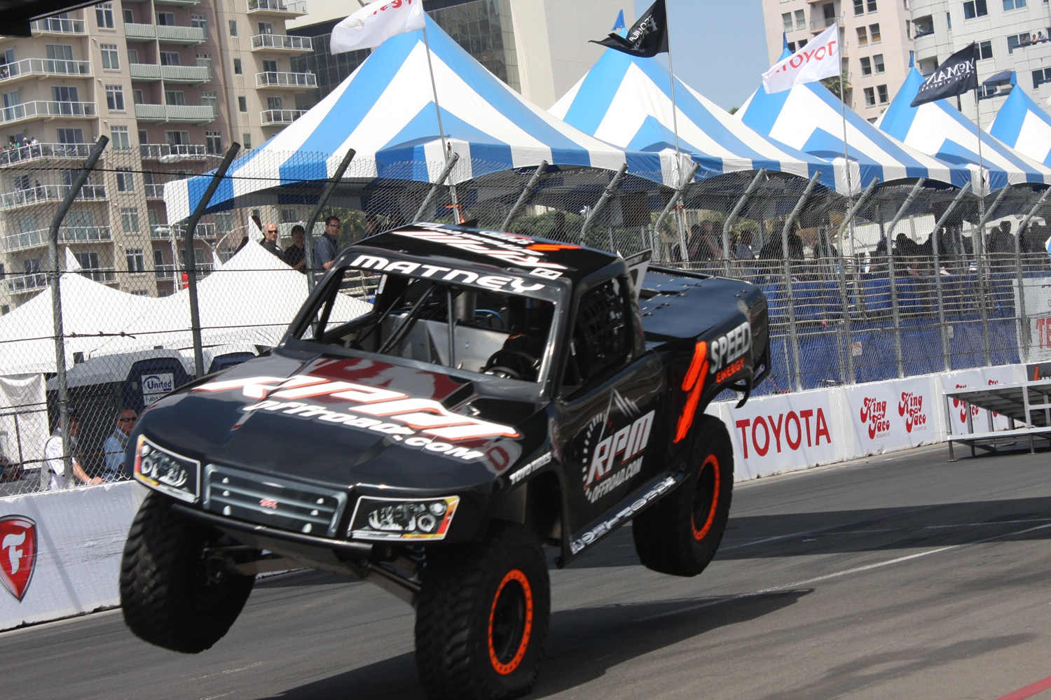 1304OR 42+Robby Gordon SST Stadium Super Trucks 2013 Long Beach Grand Prix