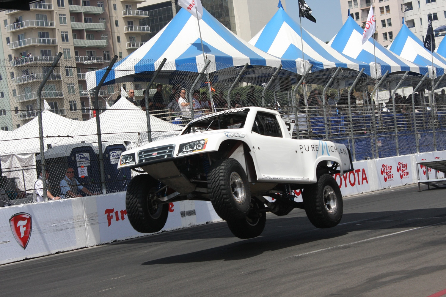 1304OR 43+Robby Gordon SST Stadium Super Trucks 2013 Long Beach Grand Prix