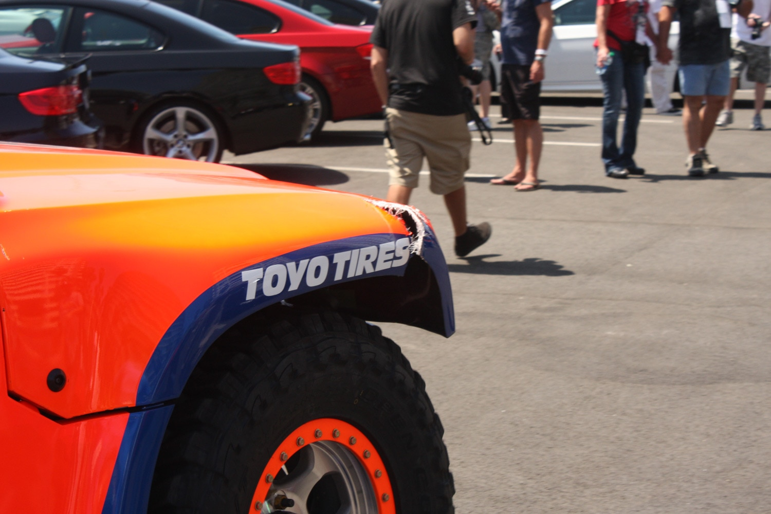 1304OR 47+Robby Gordon SST Stadium Super Trucks 2013 Long Beach Grand Prix