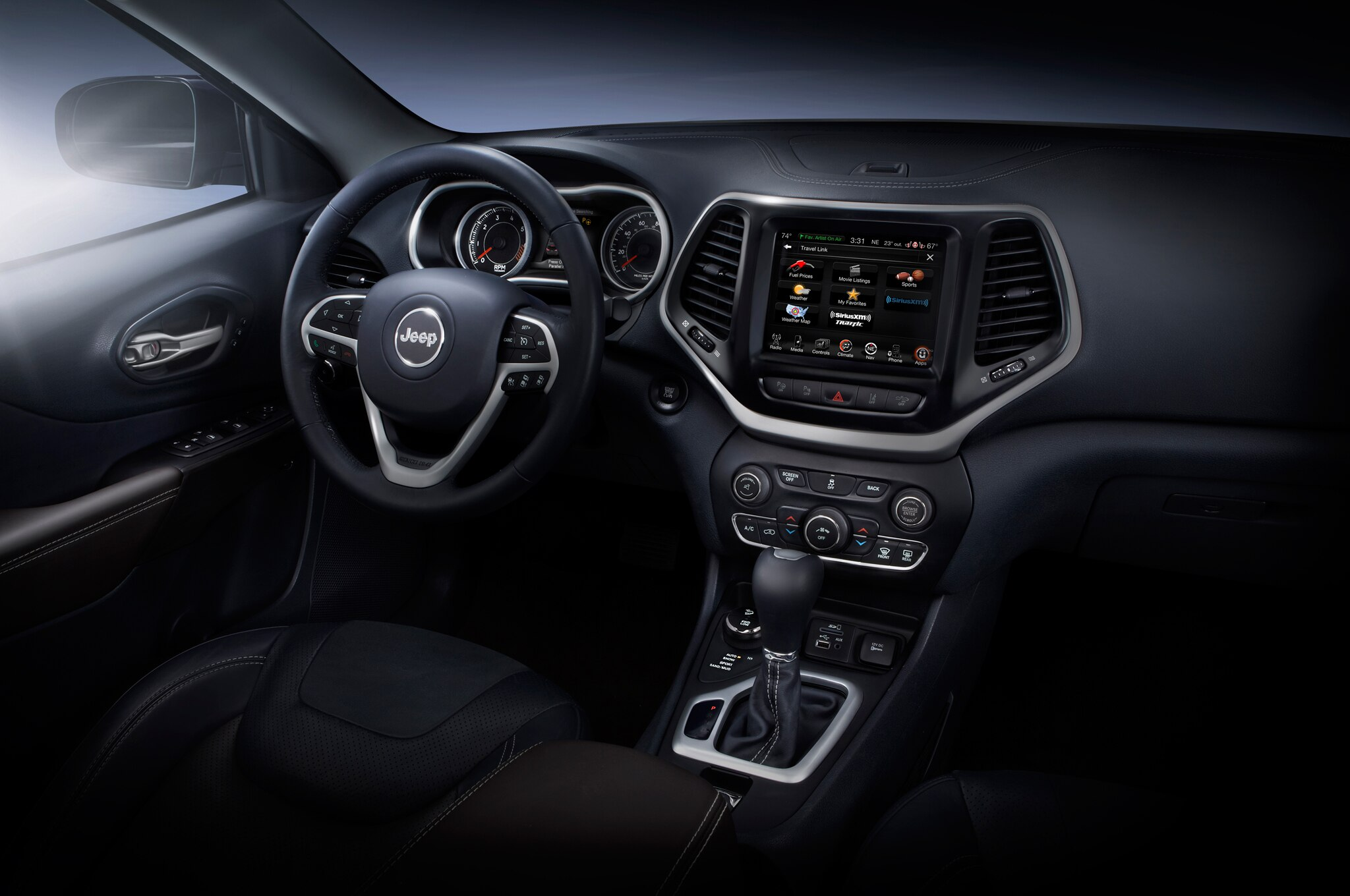 2014 Jeep Cherokee Limited interior