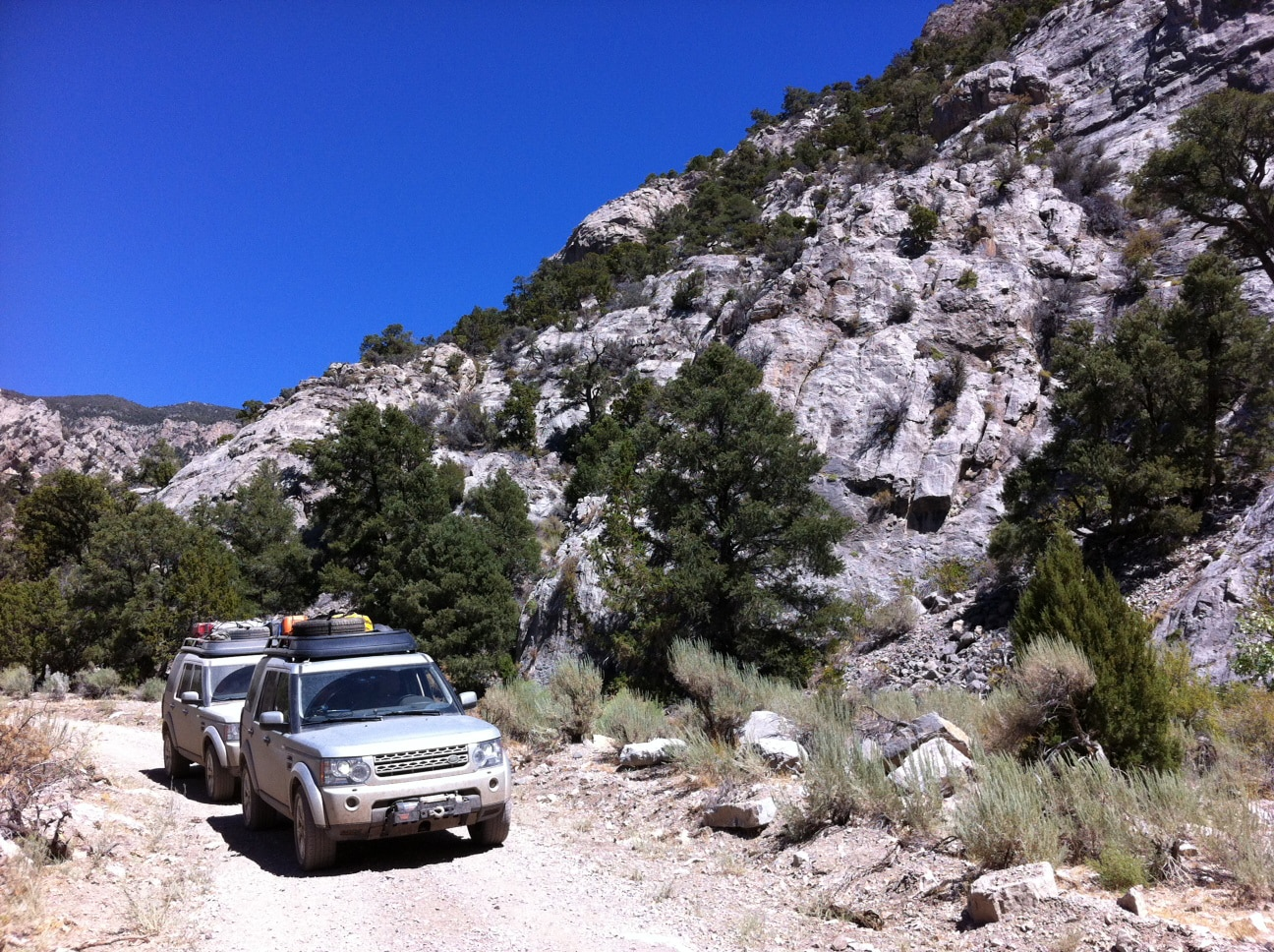 Land Rover Expedition America  7  Canyon Pass