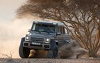 New Mercedes-Benz G63 AMG 4x4 with Portal Axles