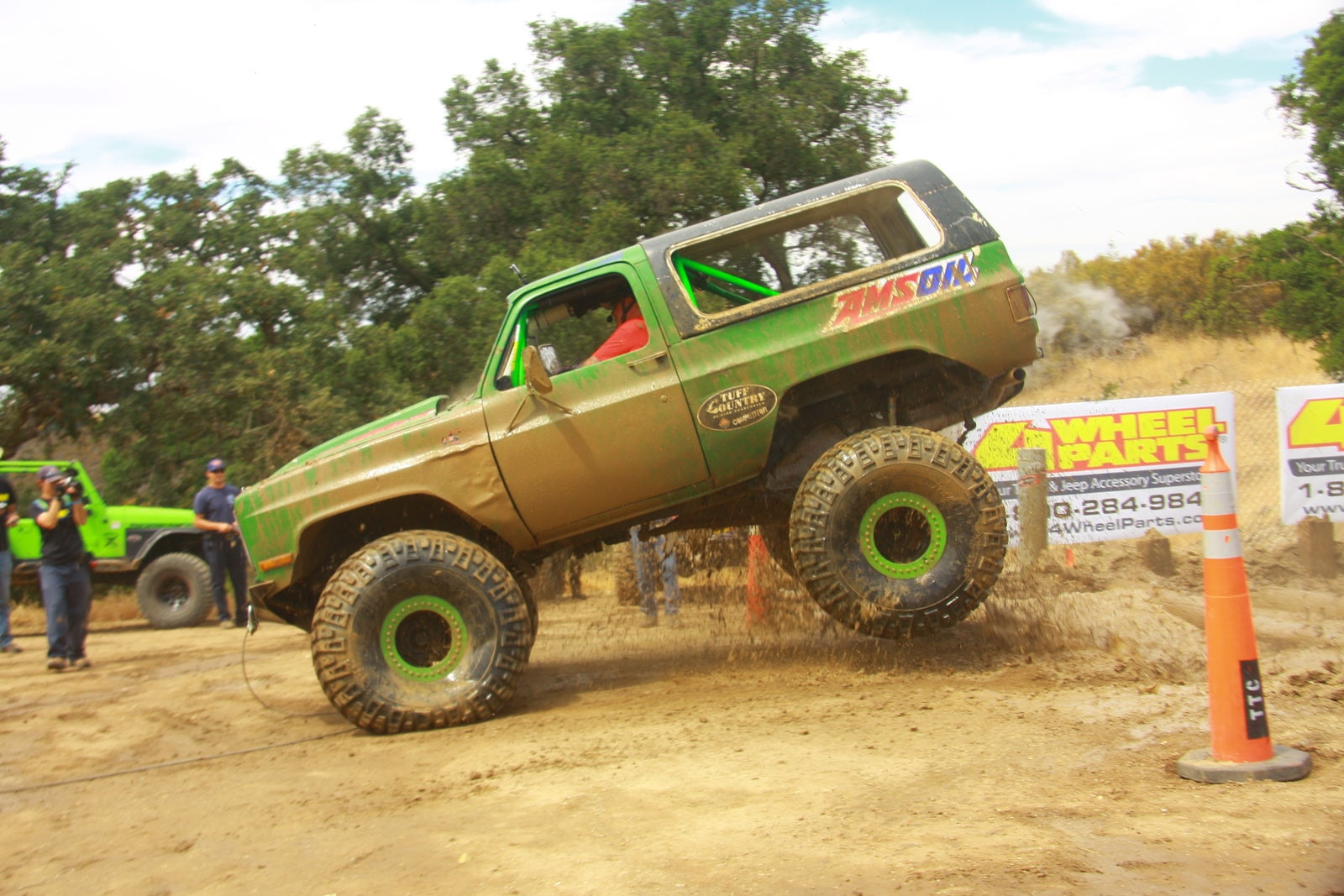 top truck challenge 2013 frame twister 016 1987 gmc k5 jimmy