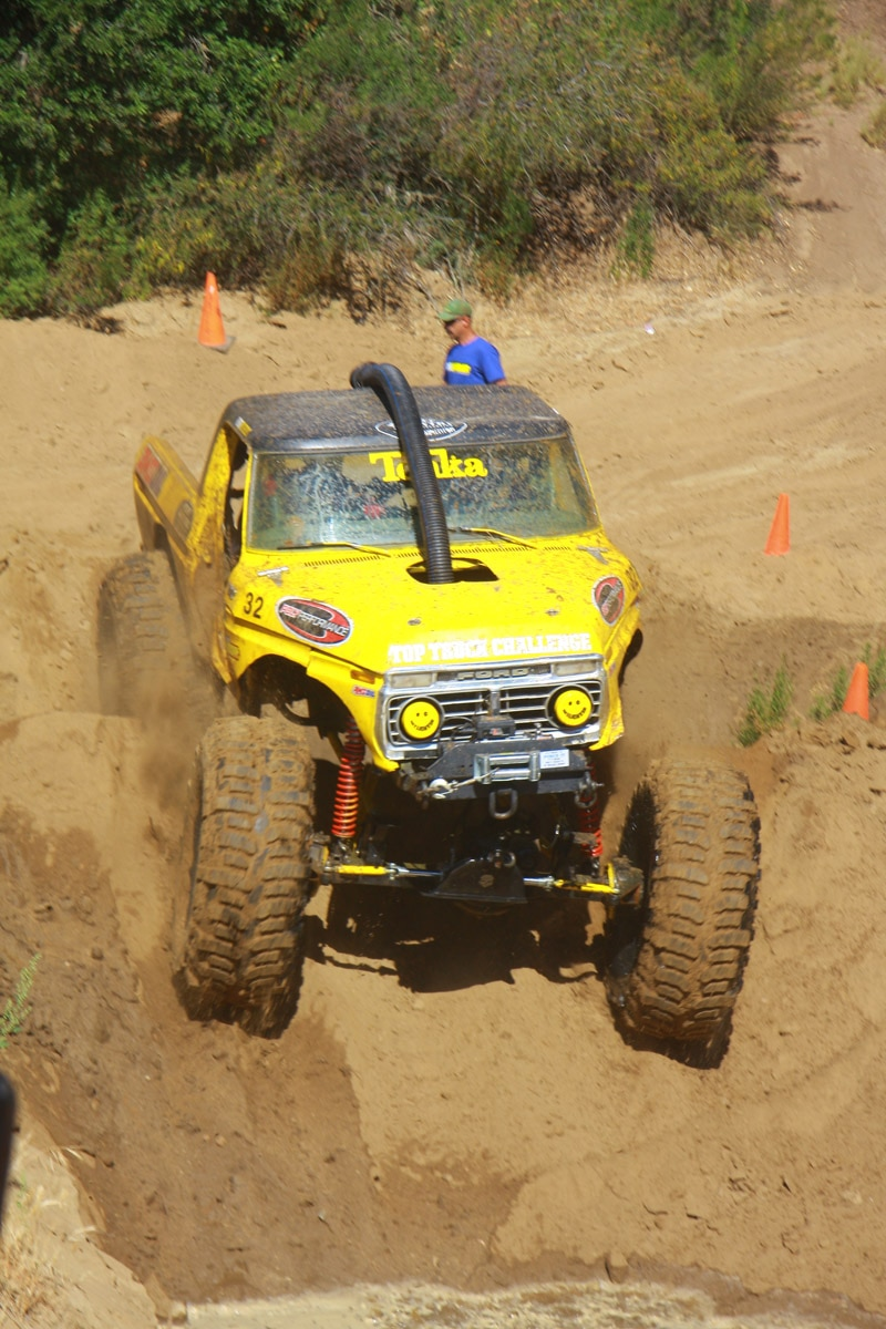 top truck challenge 2013 obsticle course 008 1979 ford bronco