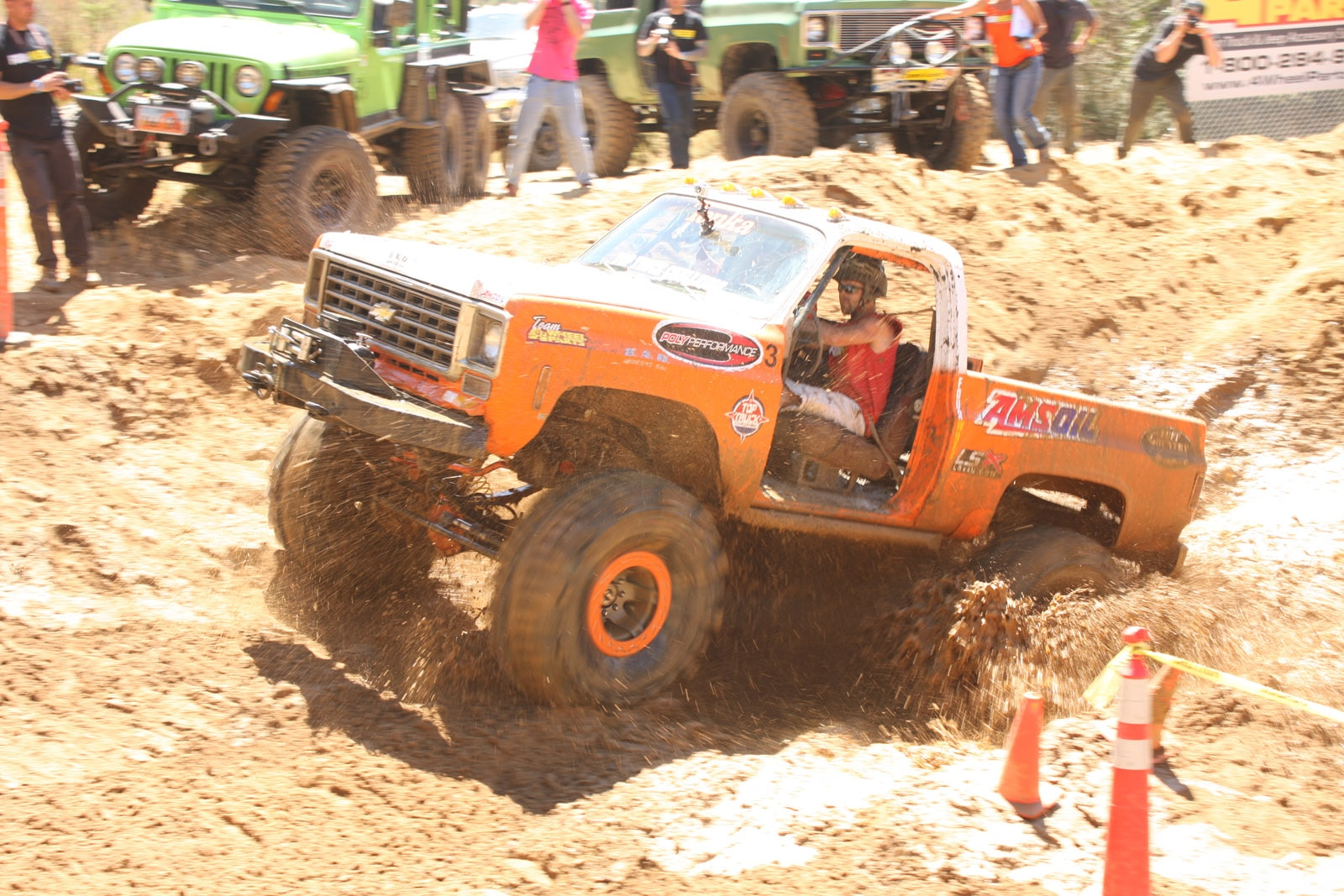 top truck challenge 2013 obsticle course 068 1978 chevy k5 blazer