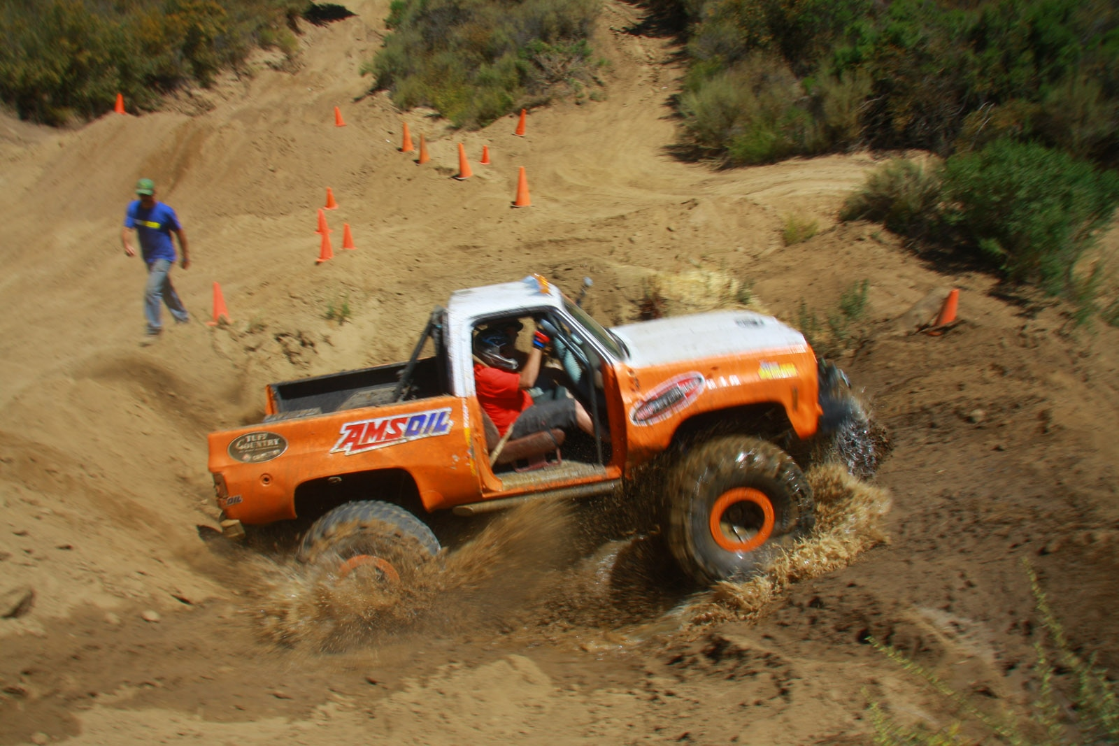 top truck challenge 2013 obsticle course 070 1978 chevy k5 blazer