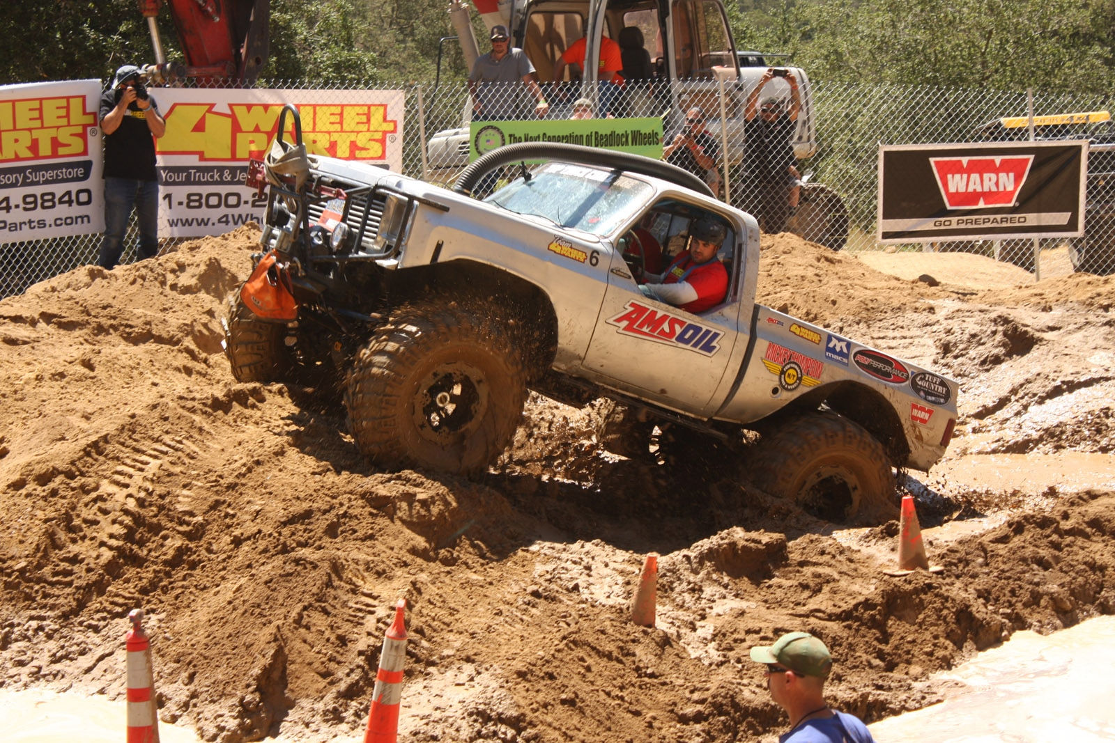 top truck challenge 2013 obsticle course 082 1977 gmc k15
