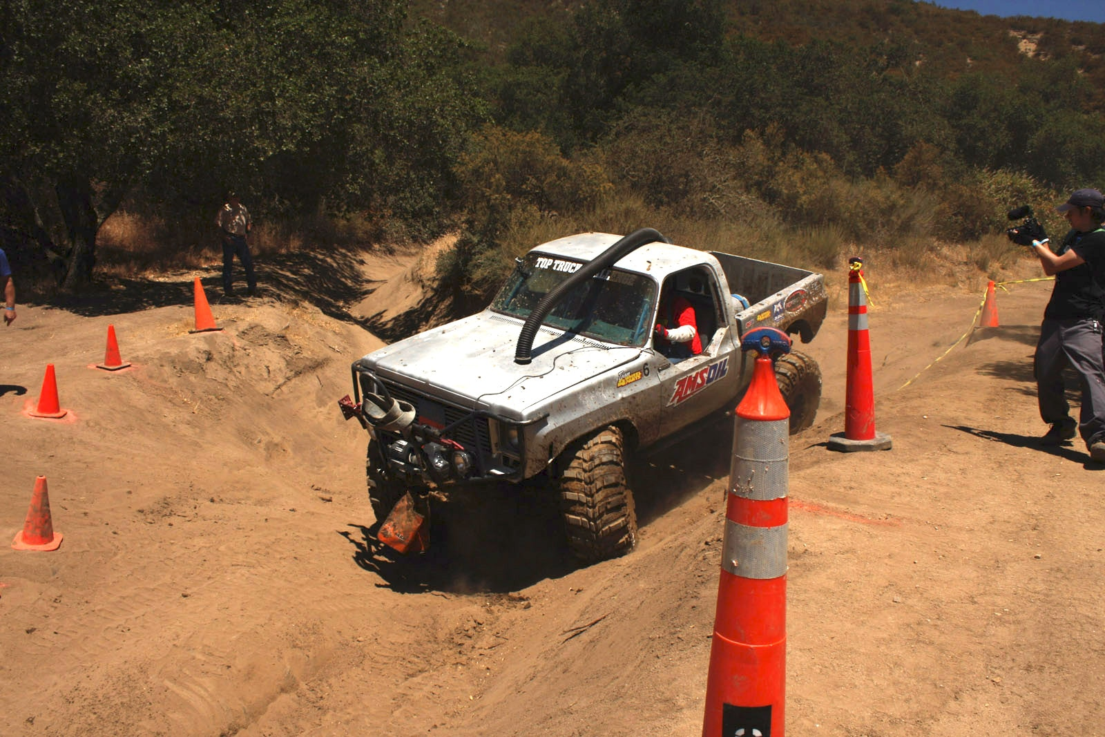 top truck challenge 2013 obsticle course 091 1977 gmc k15