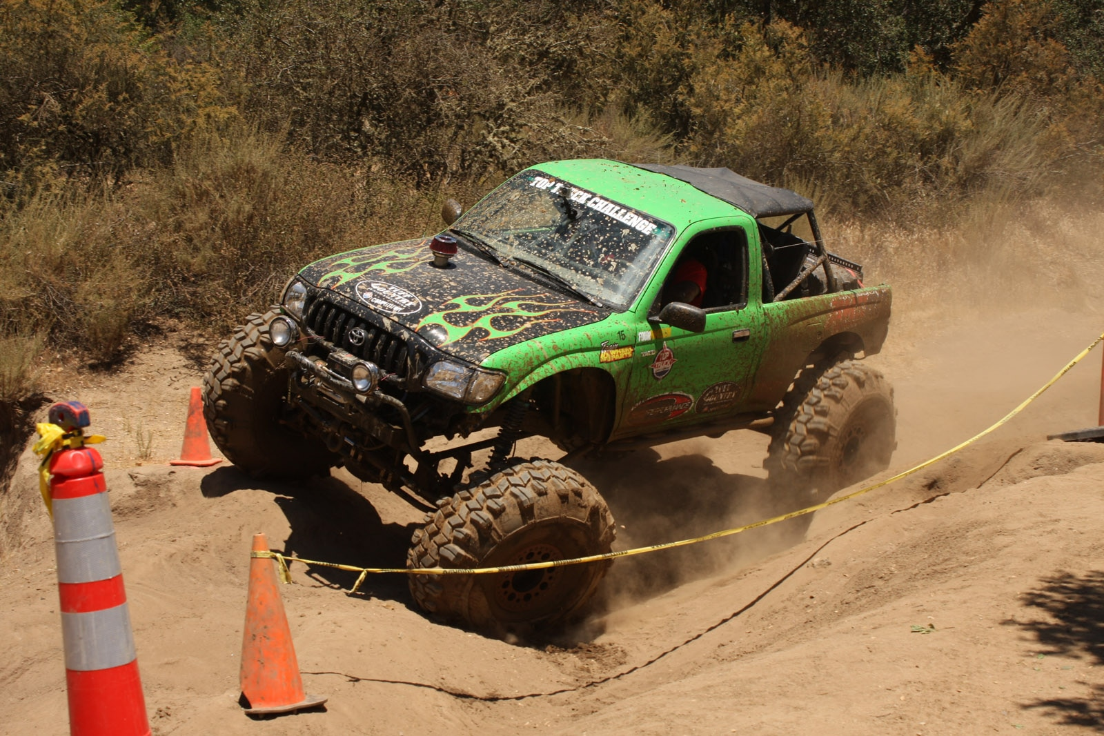 top truck challenge 2013 obsticle course 122 1999 toyota tacoma