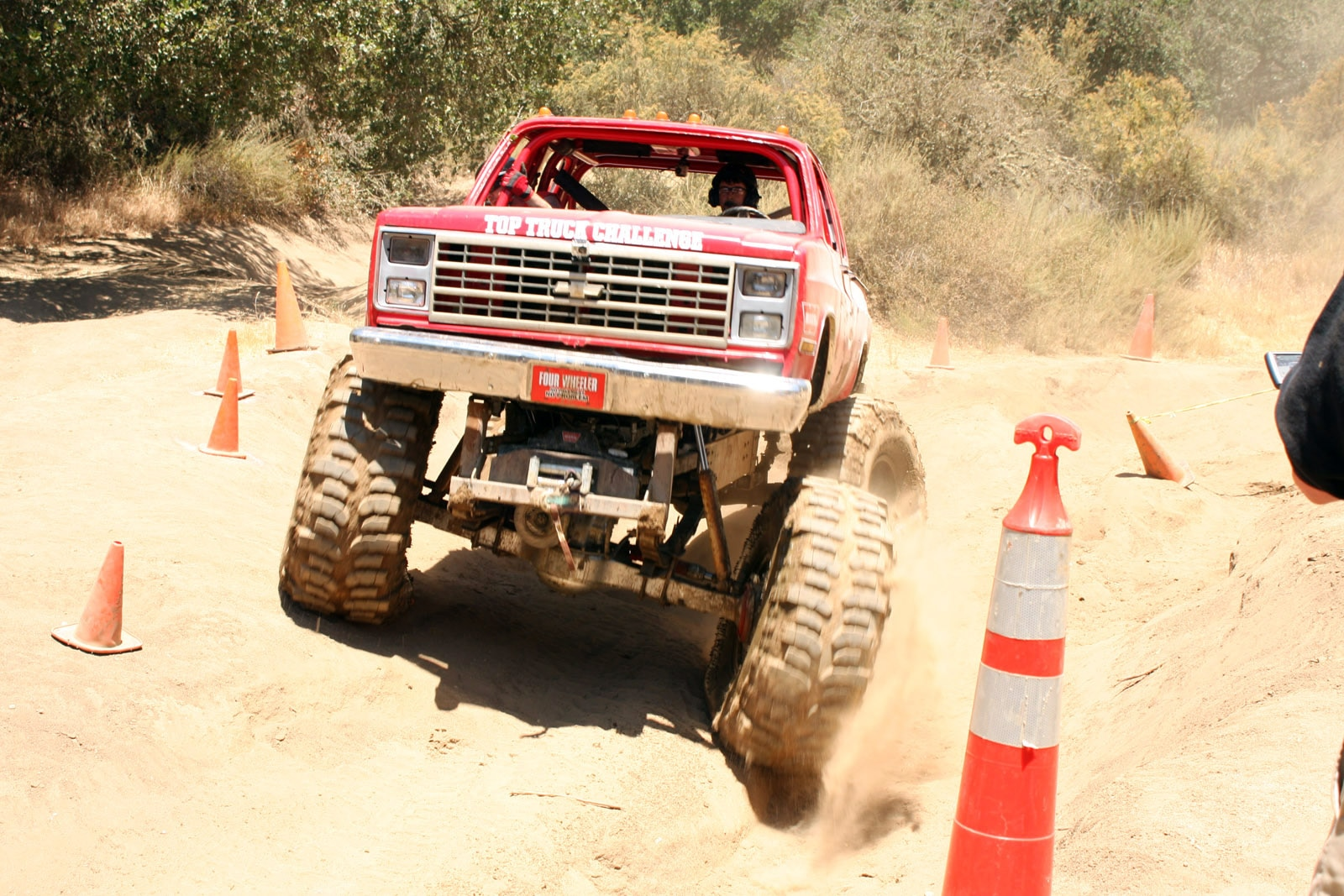 top truck challenge 2013 obsticle course 141 1989 chevy k30 crew cab
