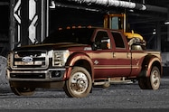 2015 Ford F 450 Super Duty front three quarters