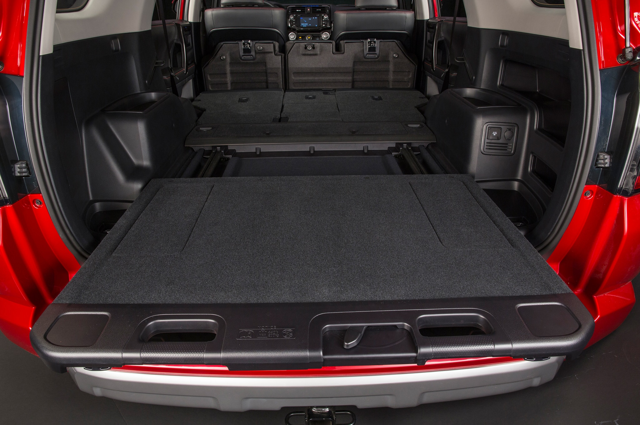 2014 Toyota 4runner Trail cargo slide