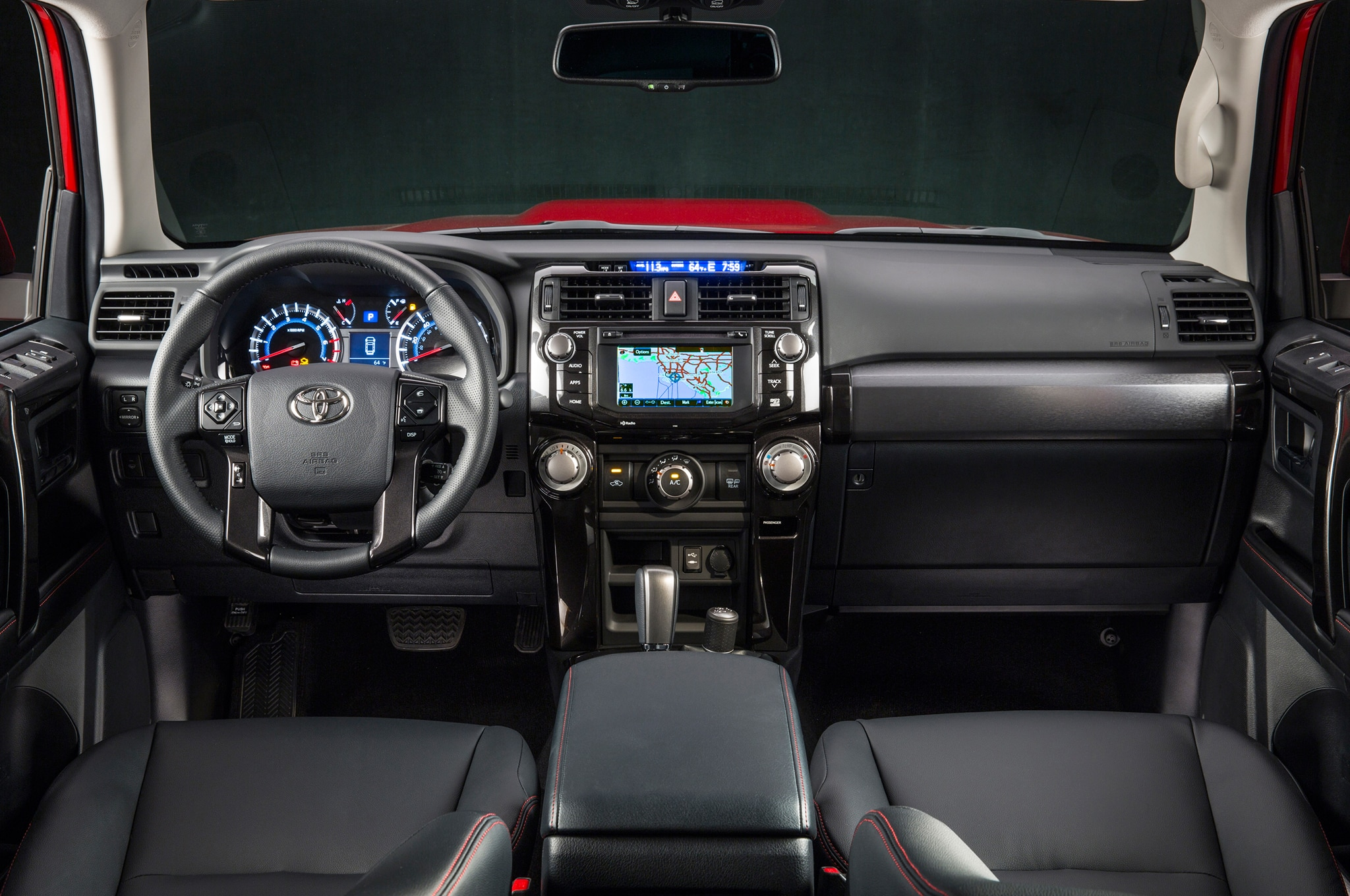 2014 Toyota 4runner Trail dash view