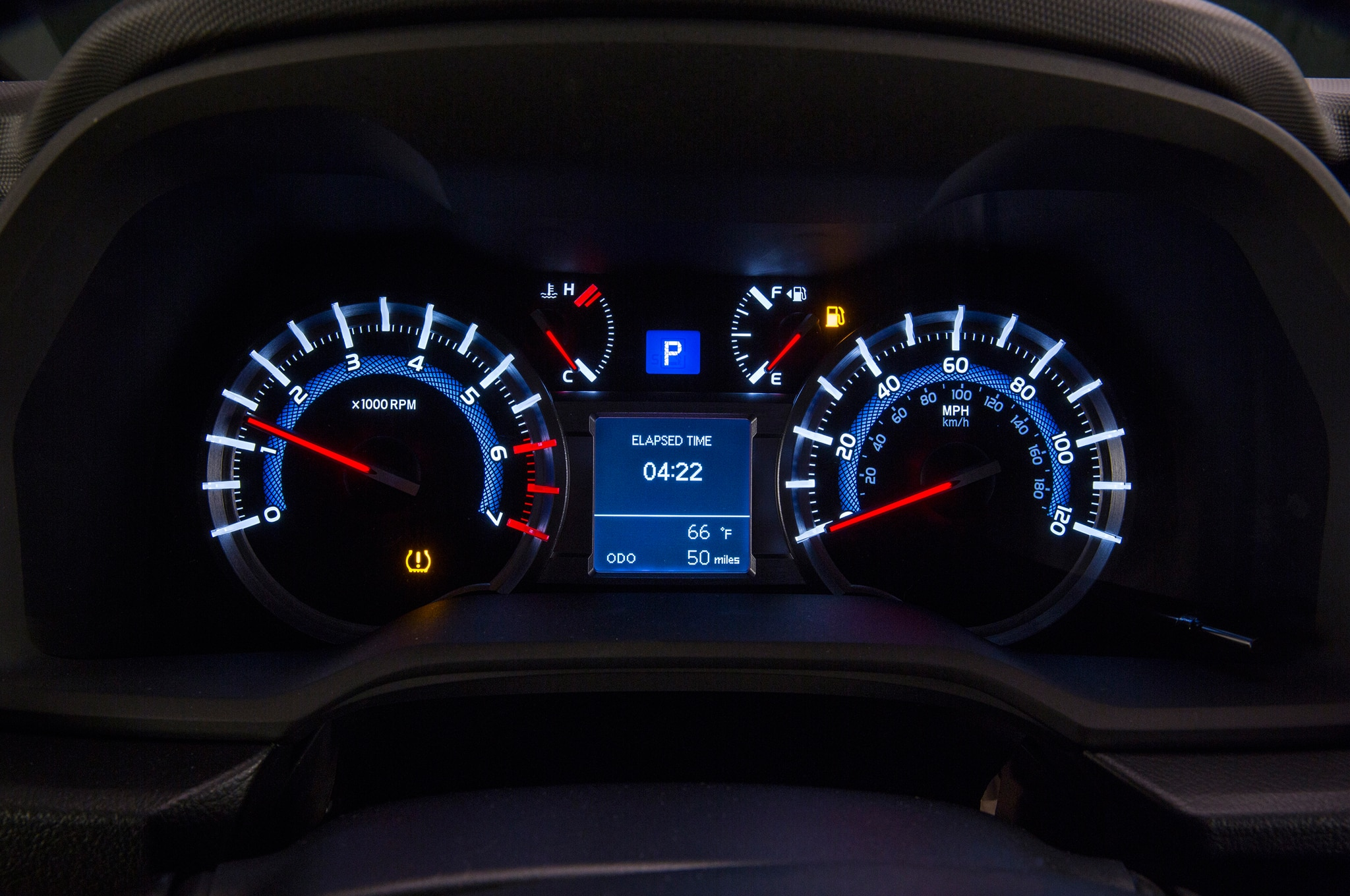 2014 Toyota 4runner Trail dash guages