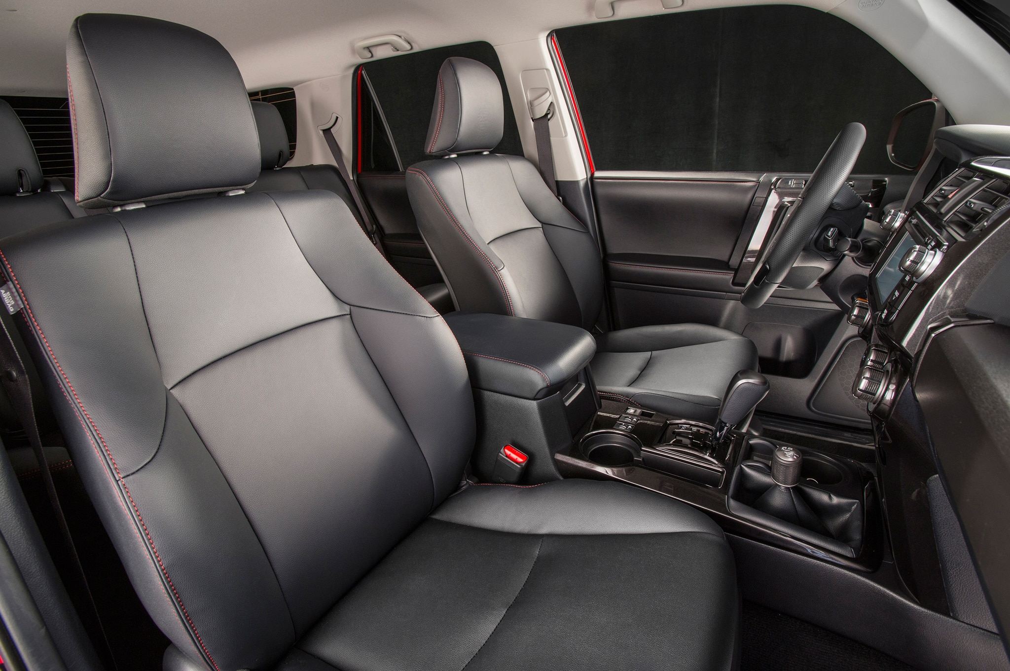 2014 Toyota 4runner Trail front interior