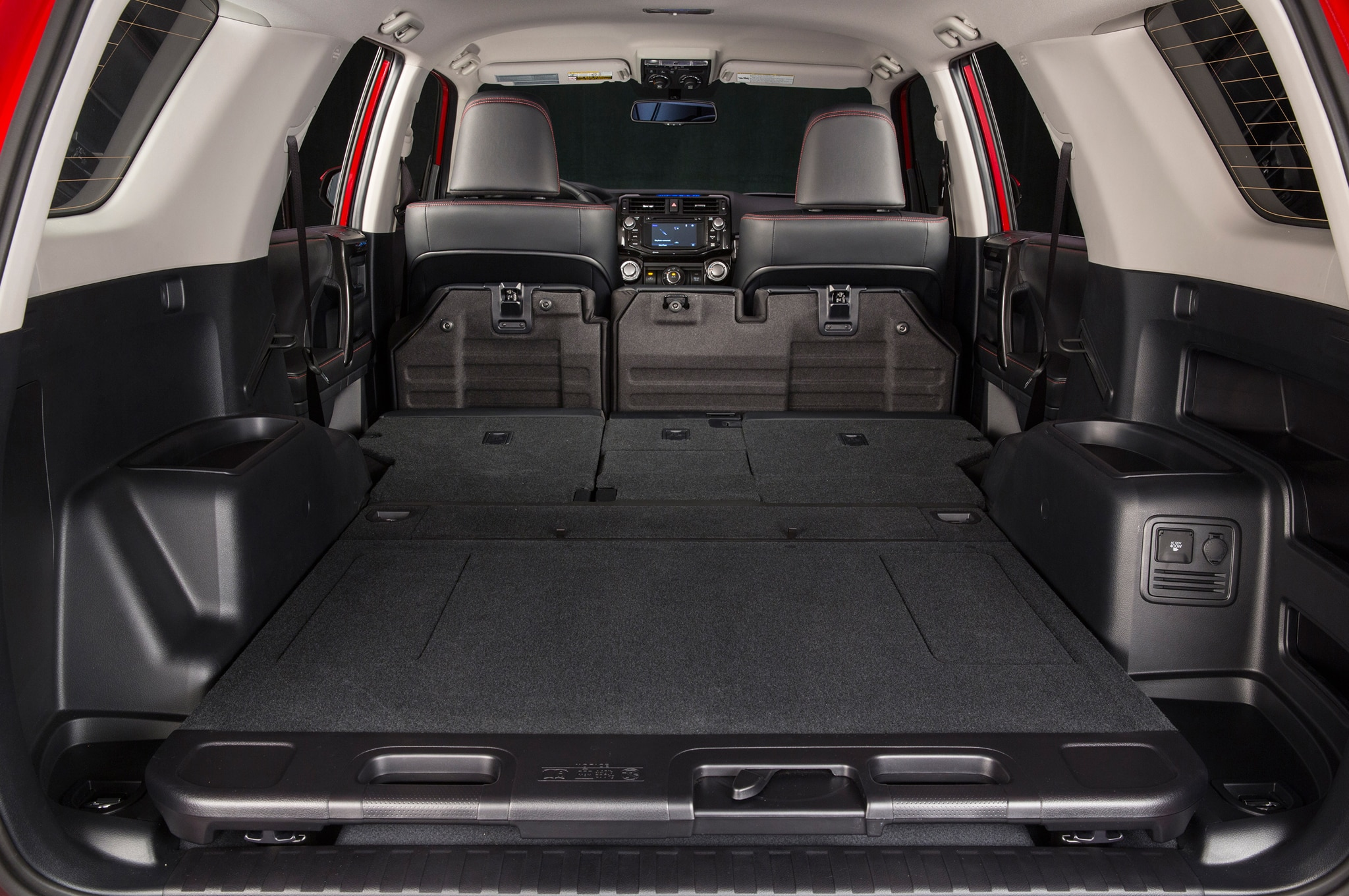 2014 Toyota 4runner Trail rear interior cargo space