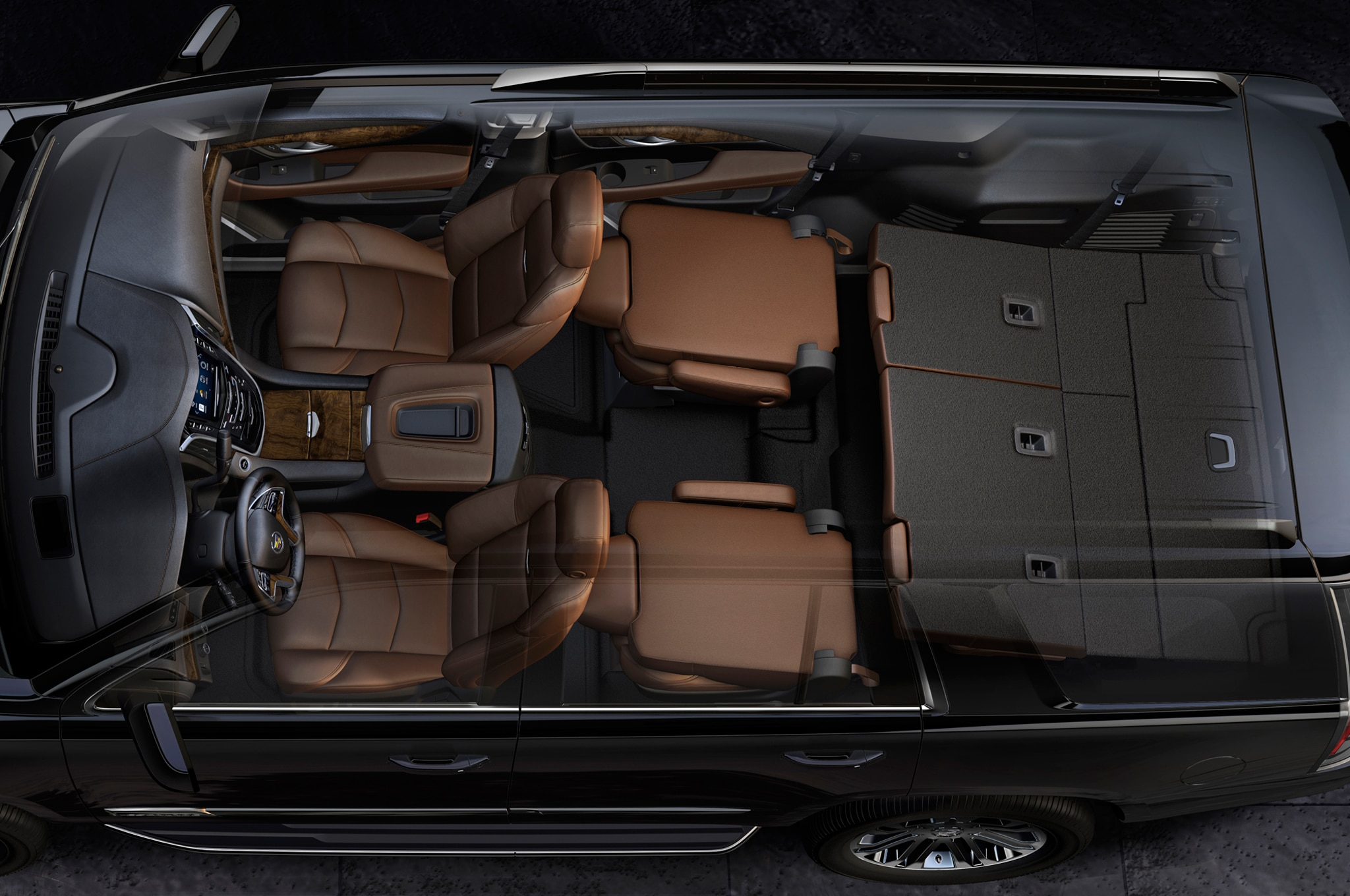 2015 Cadillac Escalade interior view 02