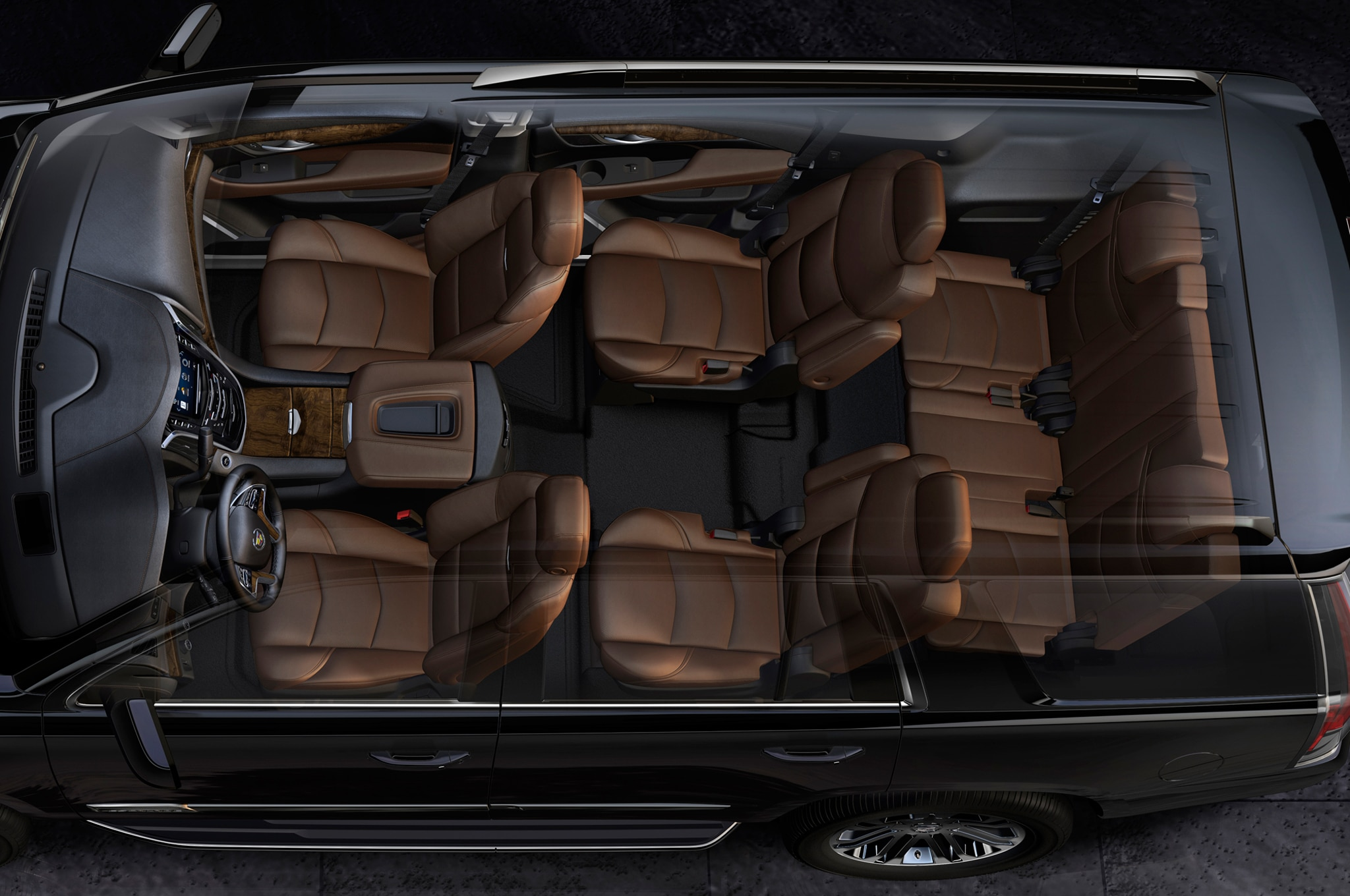 2015 Cadillac Escalade interior view