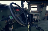 7 AM General M1116 Drivers Seat