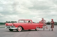 1957 Ford Ranchero front