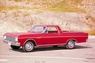 1966 Ford Ranchero front view