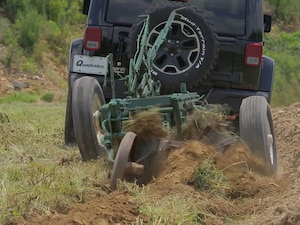tow behind plow