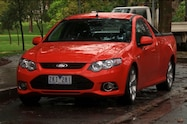 ford falcon xr6 ute left front view