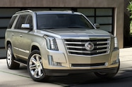 2015 Cadillac Escalade front right side