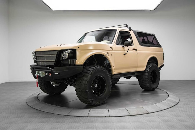 RK Motors Debuts Project Fearless Bronco