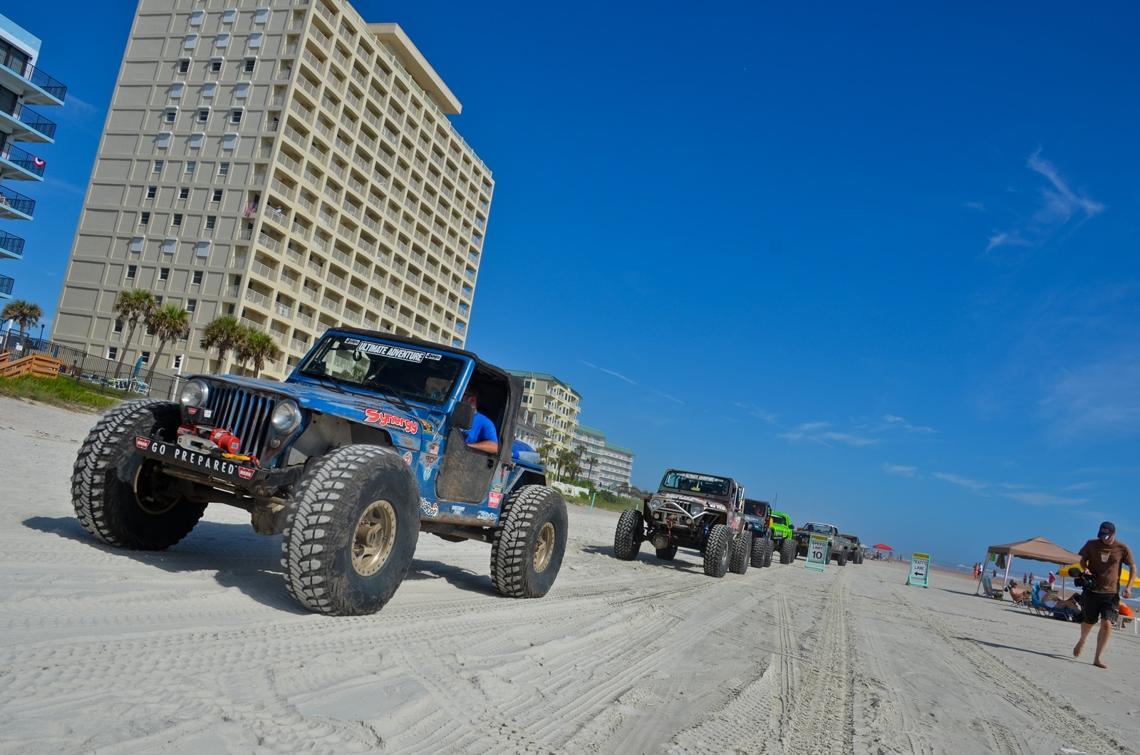 Ultimate Adventure 2013 Daytona Beach 01 Synergy MFG Willys Jeep TJ Truck Chris Durham