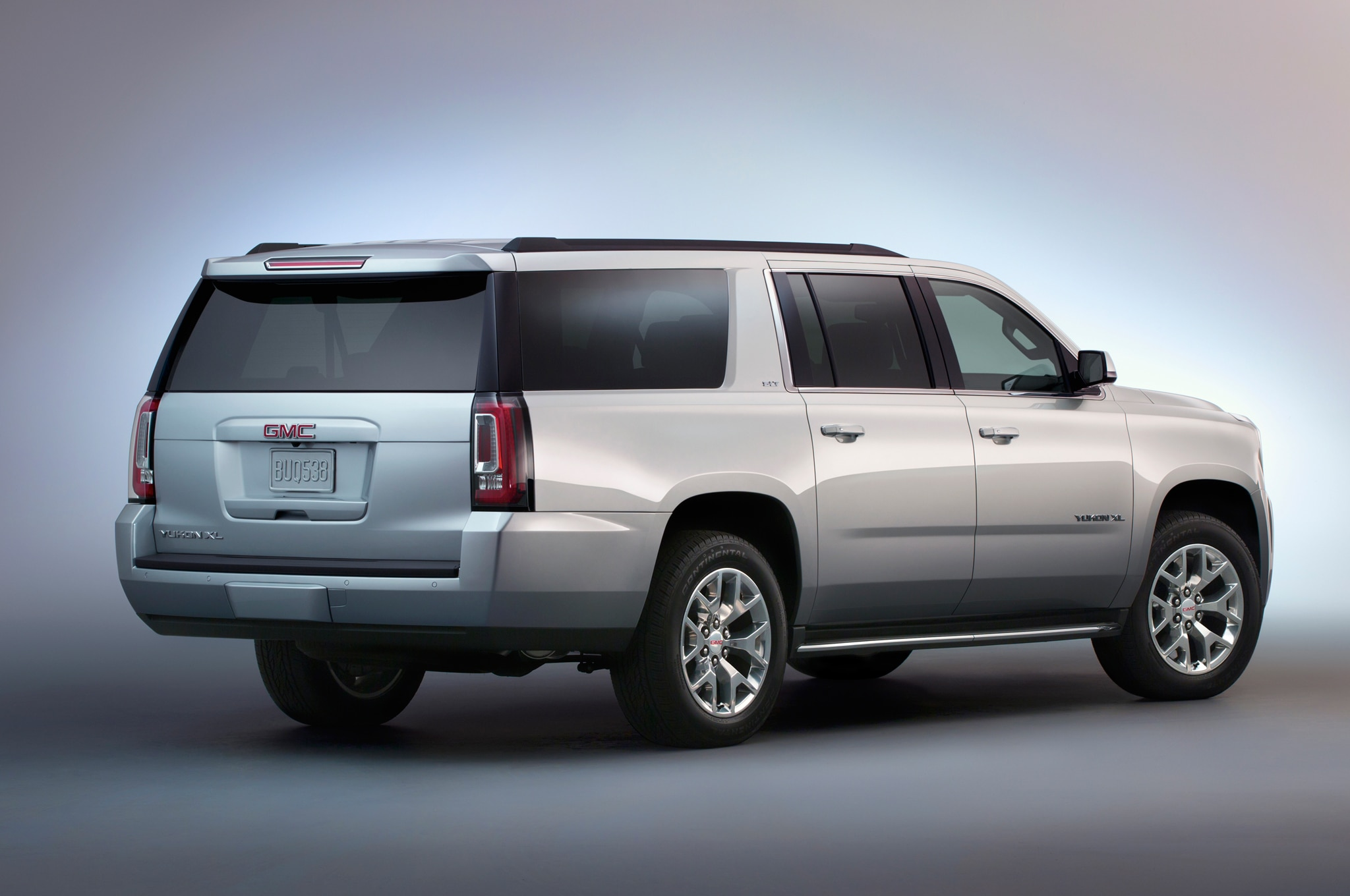 2015 GMC Yukon XL rear view