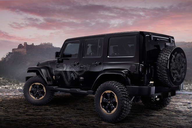 Is the 2014 Jeep Wrangler Dragon Edition an Aspirational Character?