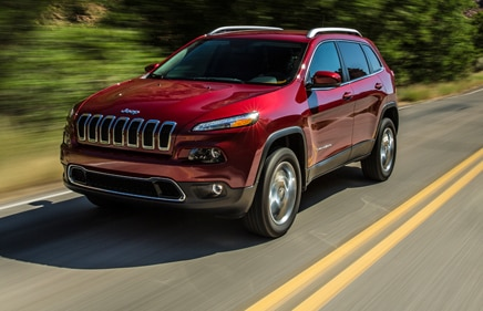 2014 Jeep Cherokee Limited homepage