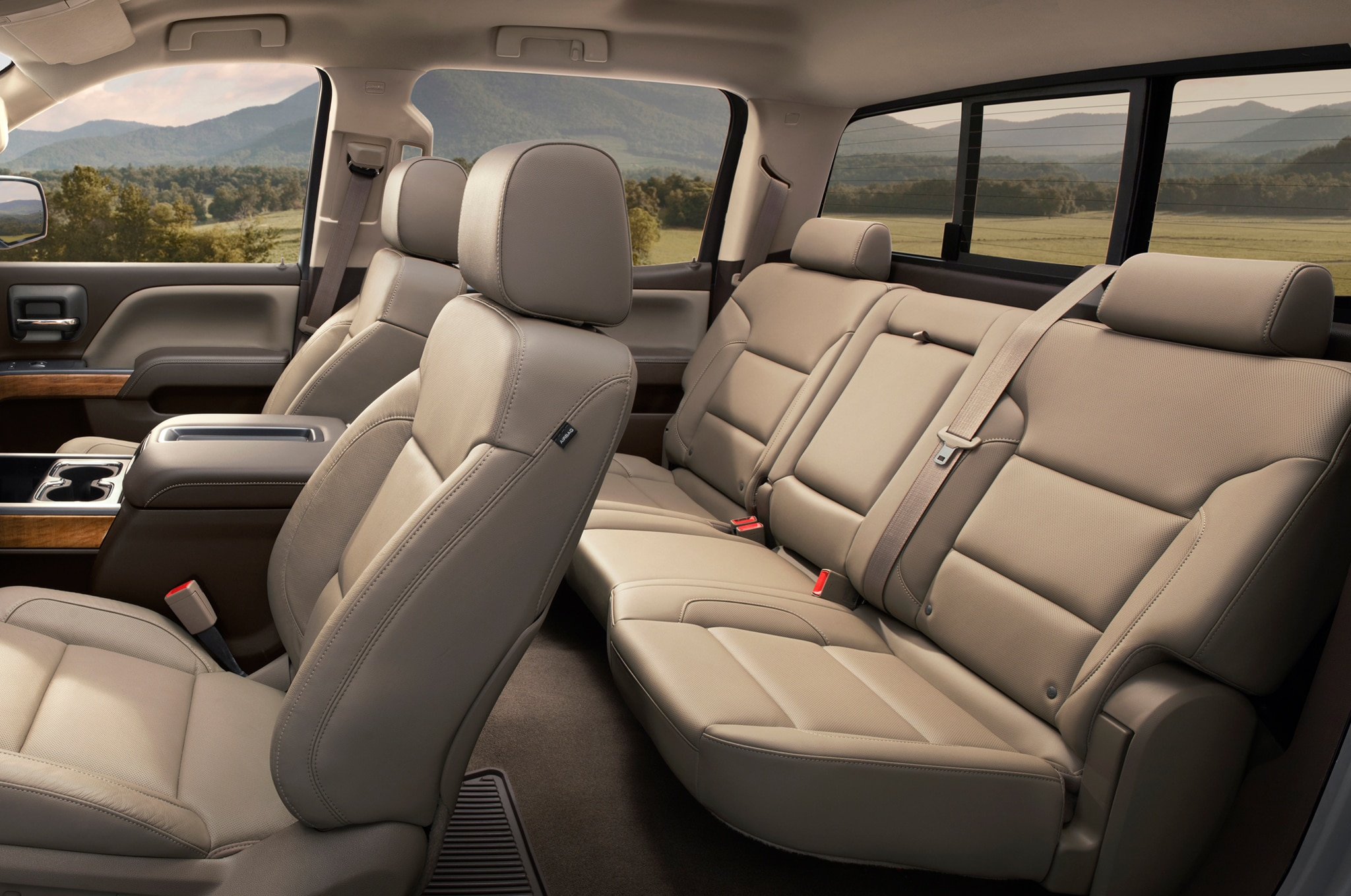 2015 Chevrolet Silverado 2500HD back seats