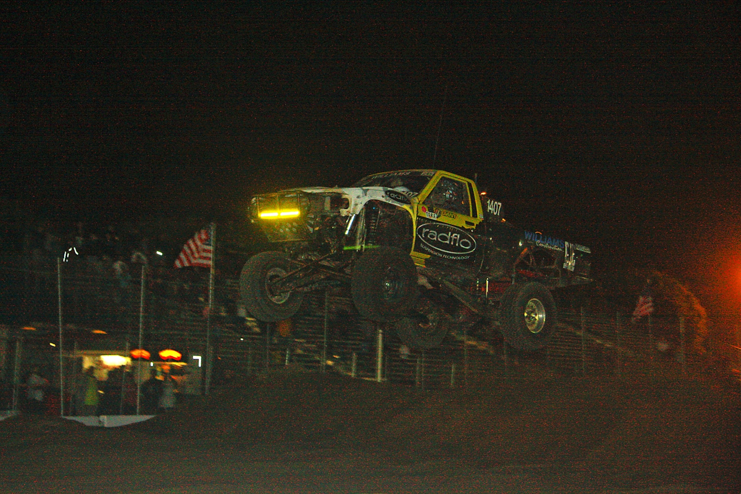 Off Road Race Truck   76  Toyota Prerunner Jump Competition