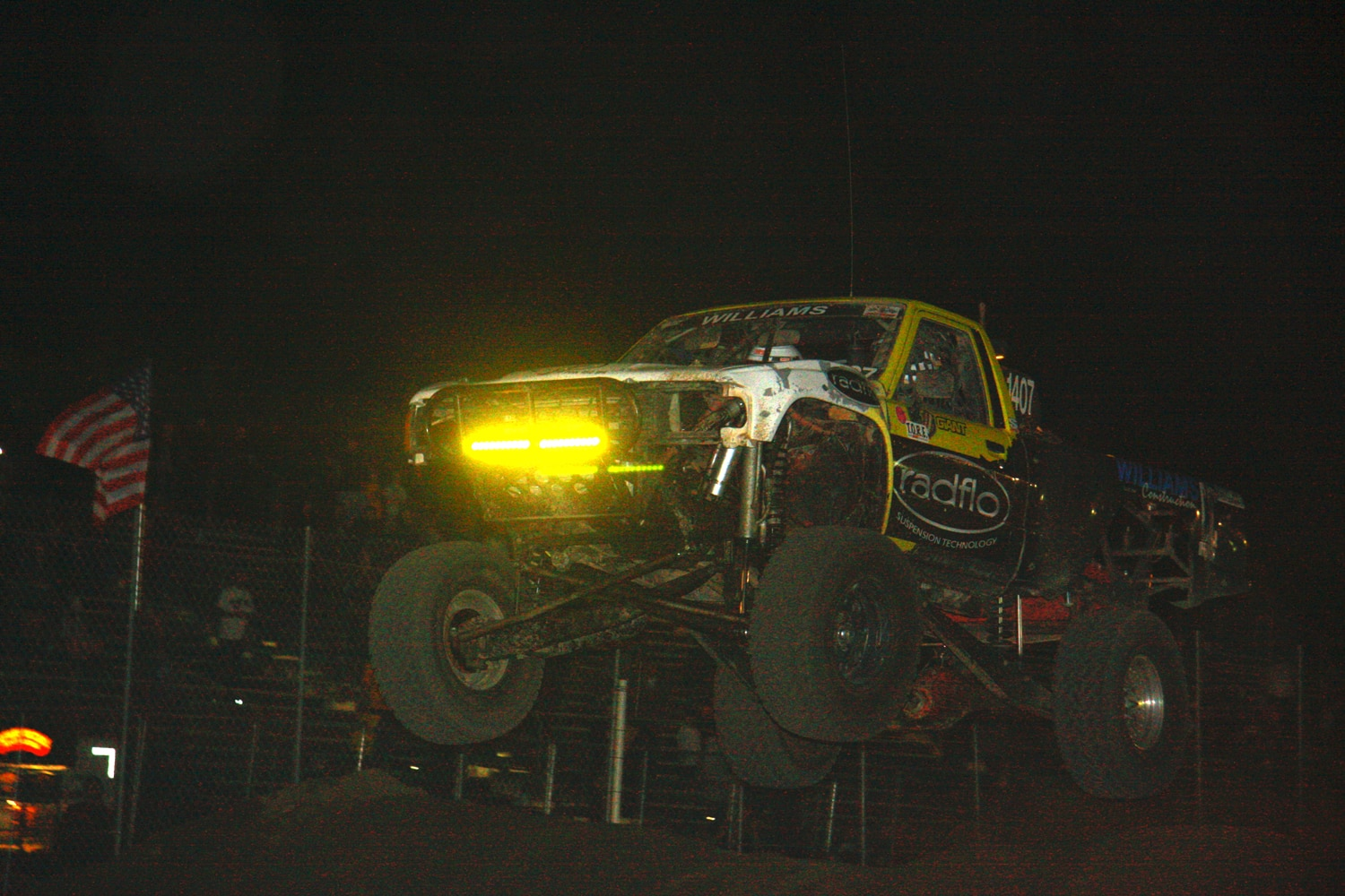 Off Road Race Truck   78  Toyota Prerunner Jump Competition