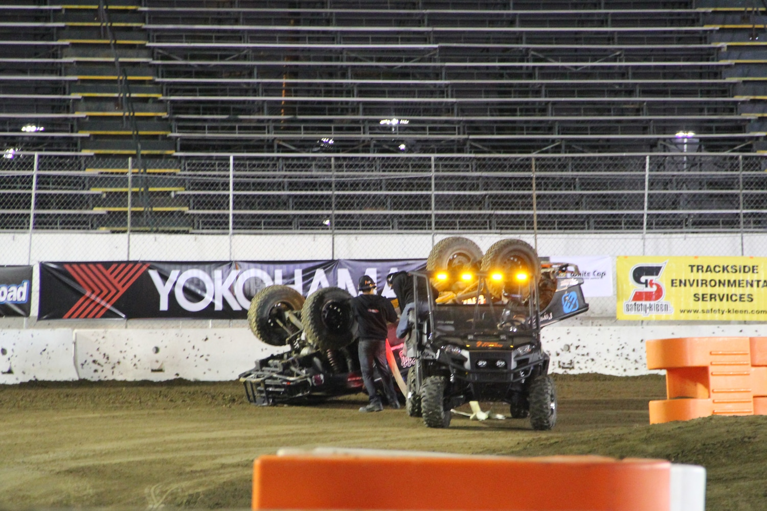 Stadium Super Trucks at SSSS  4  Prerunner rollover.JPG
