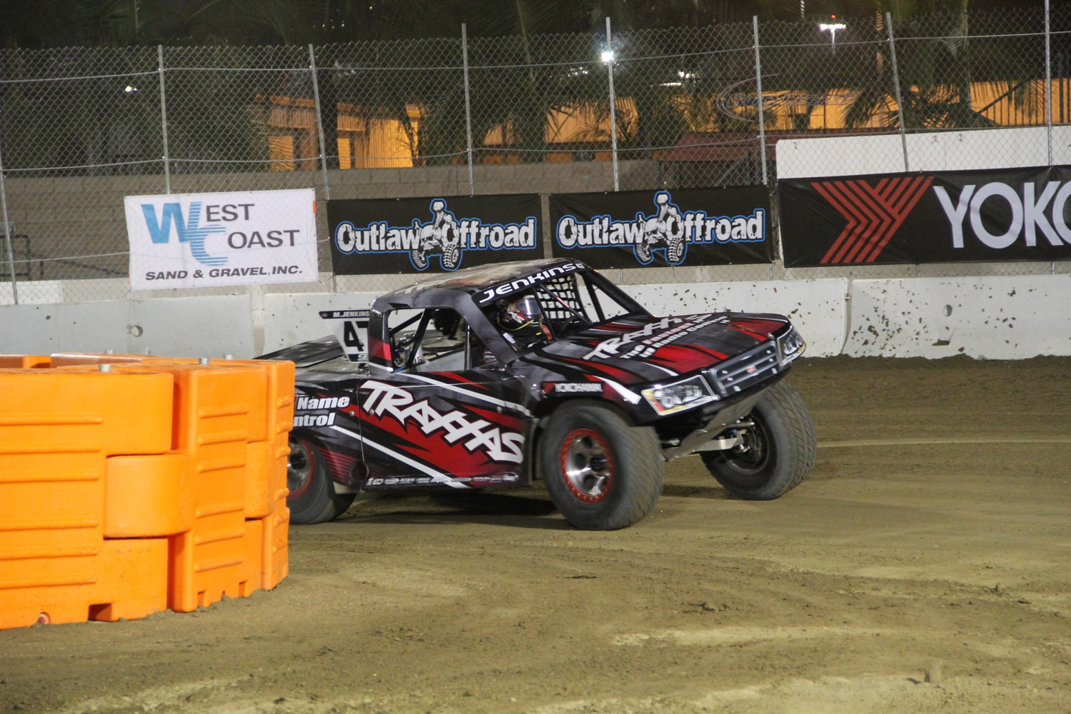 Stadium Super Trucks at SSSS  15 Jenkins SST Truck spin.JPG