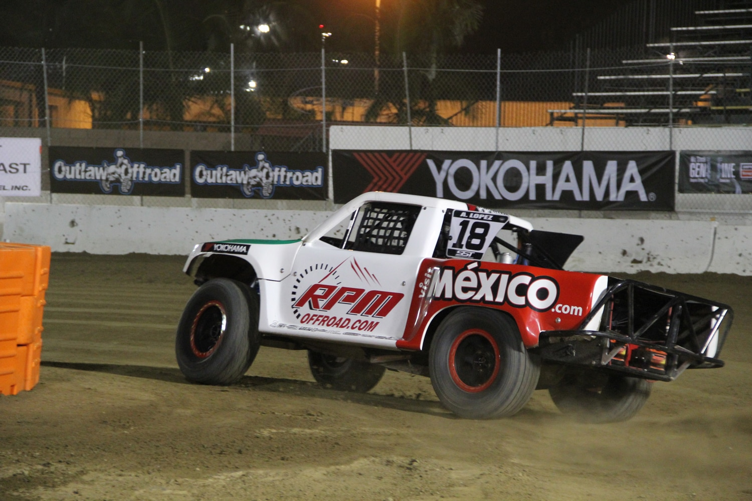 Stadium Super Trucks at SSSS  19  Lopez SST Truck Slide.JPG