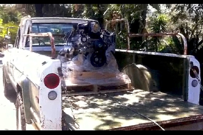 How to Pull an Engine Out of a Truck in Less than Two Minutes