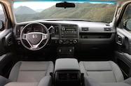 2014 Honda Ridgeline Sport dash view