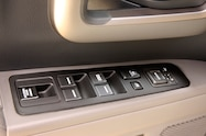 2014 Honda Ridgeline RTL window buttons