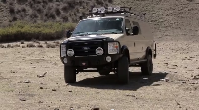 Off Road 4 Camper Wars  Ford 4x4 Sportsmobile vs Pace Arrow RV   Dirt Every Day Ep. 18   YouTube