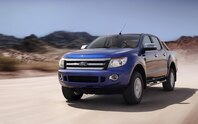 Ford Ranger Wildtrak front view