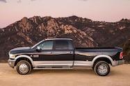 2014 Ram 3500 Heavy Duty Dualie Laramie side profile