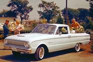 1962 Ford Falcon Ranchero front view